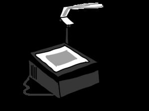 retroprojecteur lampe